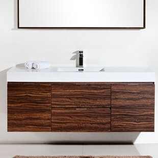 wall mounted floating bathroom vanities - Wall Mount Bathroom Vanity