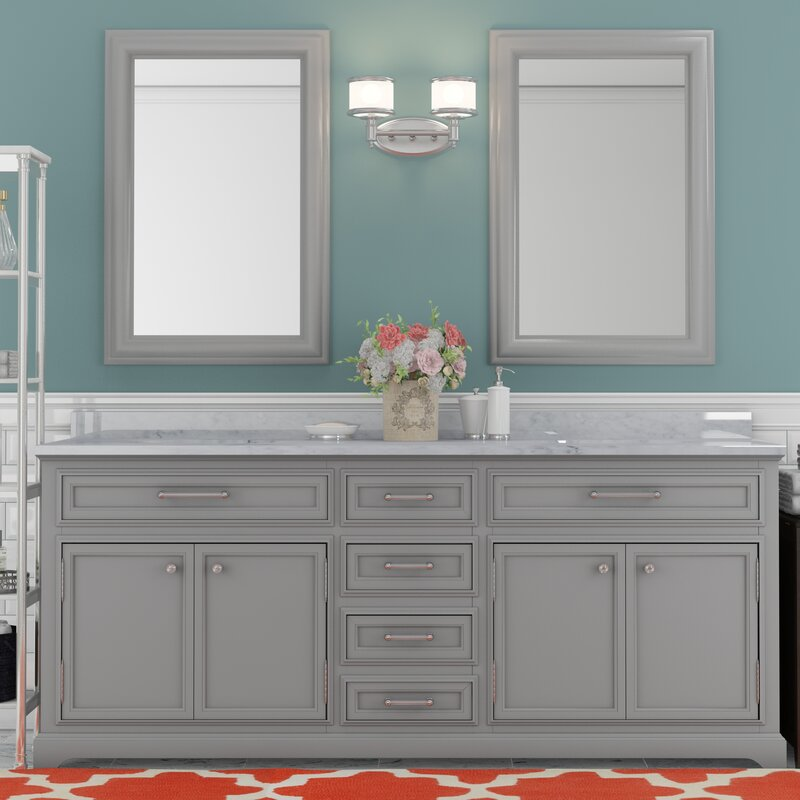 bathroom vanity 72 double sink. Colchester 72  Double Sink Bathroom Vanity Set Darby Home Co