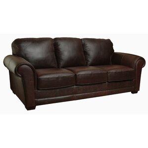 Mark Leather Sofa by Luke Leather