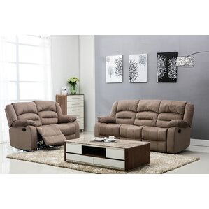 Vermont 2 Piece Living Room Set by Noble House