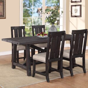 Gaudette Brown Extendable Dining Table by Gracie Oaks