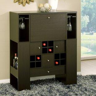 Jed Deluxe 12 Bottle Floor Wine Cabinet by Hokku Designs
