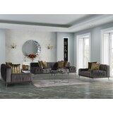 Kolnaski 3 Piece Living Room Set by Orren Ellis