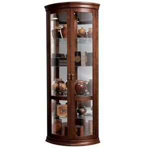 Chancellor Lighted Corner Curio Cabinet by Howard Miller®