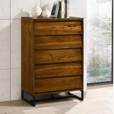 Charlize 5 Drawer Chest by Foundry Select