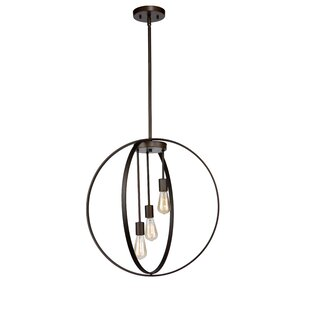 Brayden Studio Thorsen 3-Light Pendant