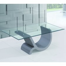 Omega Coffee Table by Fab Glass and Mirror