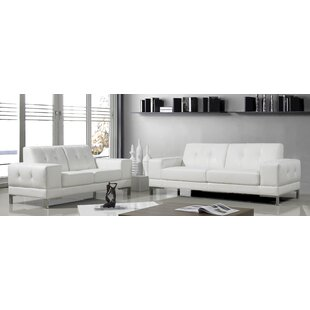 Orren Ellis Zorski 2 Piece Living Room Set