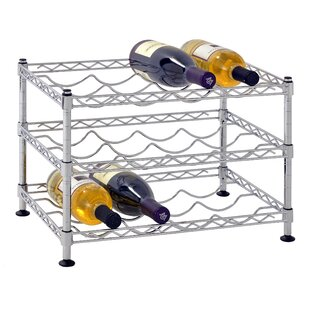 Bilski Wire 12 Bottle Floor Wine Rack by ..
