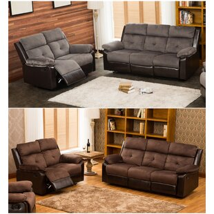 Tanna Reclining 2 Piece Living Room Set Red Barrel Studio