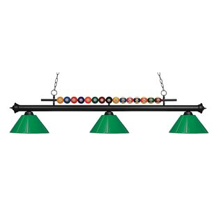 Red Barrel Studio Chapa 3-Light Billiard Light