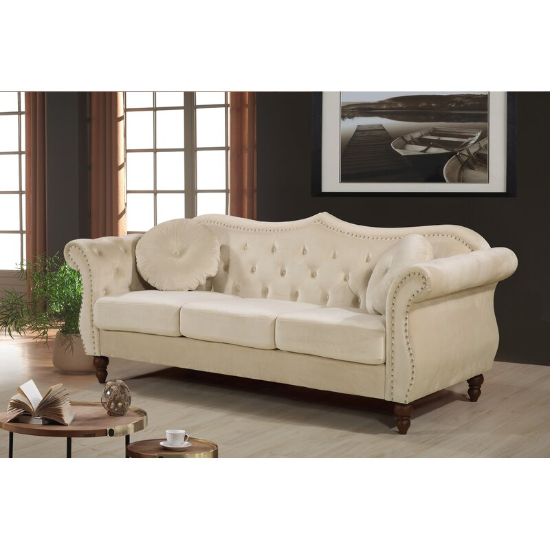 Mercer41 Telles Chesterfield Sofa Amp Reviews Wayfair Ca
