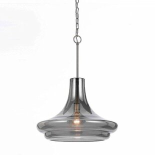 AF Lighting Metro Elements 1-Light Schoolhouse Pendant