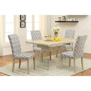 Ferndown 5 Piece Dining Set Highland Dunes