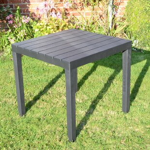 Orson Plastic Dining Table By Sol 72 Outdoor