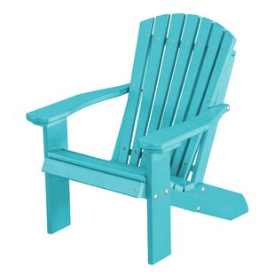 Patricia Child's Plastic/Resin Adirondack Chair by Rosecliff Heights