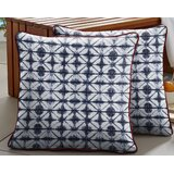 Lorraine Sunbrella Indoor / Outdoor Geometric Throw Pillow (Set of 2)