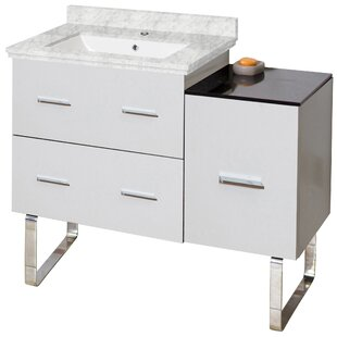 Xena Plywood-Melamine 33 Single Bathroom Vanity Base by American Imaginations