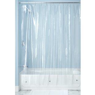 Bridgett Vinyl Single Shower Curtain Liner