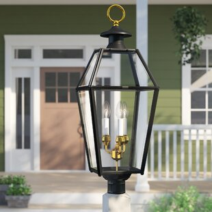 Sol 72 Outdoor Estevan Outdoor 3-Light Lantern Head
