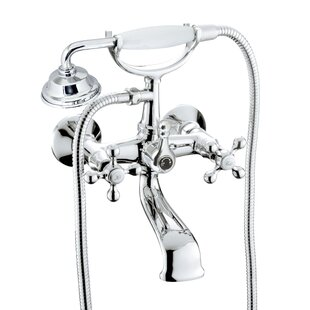 Charlton Home Isai Tub and Shower Mixer w..