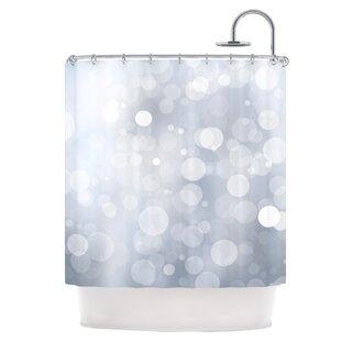 Glass Single Shower Curtain