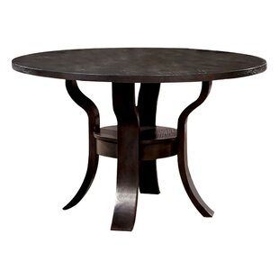 Hoehne Transitional Dining Table August Grove
