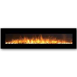 Andres Wall Mounted Electric Fireplace by Orren Ellis SKU:CB936182 Price Compare
