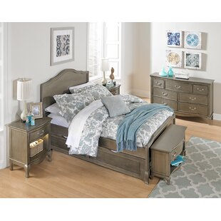 Winifred Full Panel Bed with Trundle