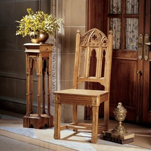 Sudbury Gothic Side Chair Design Toscano