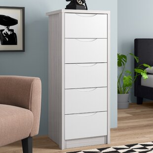 Henton 5 Drawer Chest Of Drawers By 17 Stories