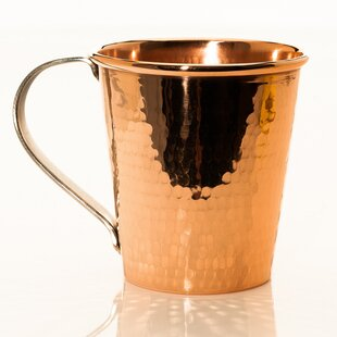 18 oz. Moscow Mule Mug with Stainless Steel Handle