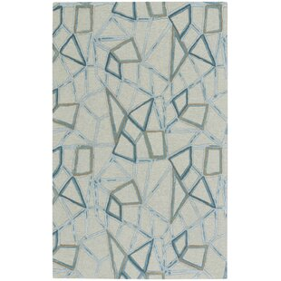 Read Reviews Splinter Hand-Tufted Crystal Area Rug By Capel Rugs