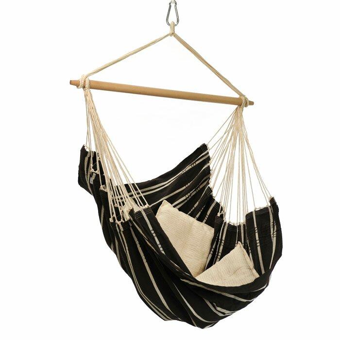 The Holiday Aisle  Molina Brazil Cotton Chair Hammock Color: Mocha