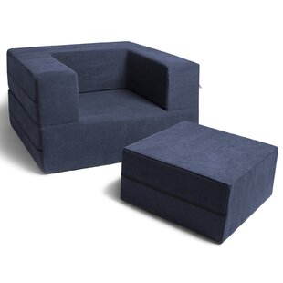 Best Reviews Caudill Convertible Chair and Ottoman by Trule Teen Reviews (2019) & Buyer's Guide