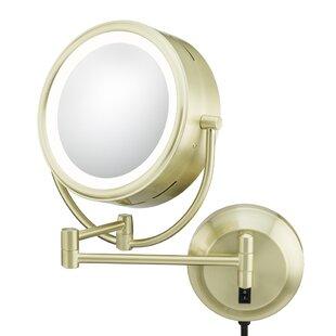 Kimball & Young Kimball & Young NeoModern LED Lighted Plug-in Wall Mirror