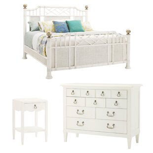 Ivory Key Panel Configurable Bedroom Set
