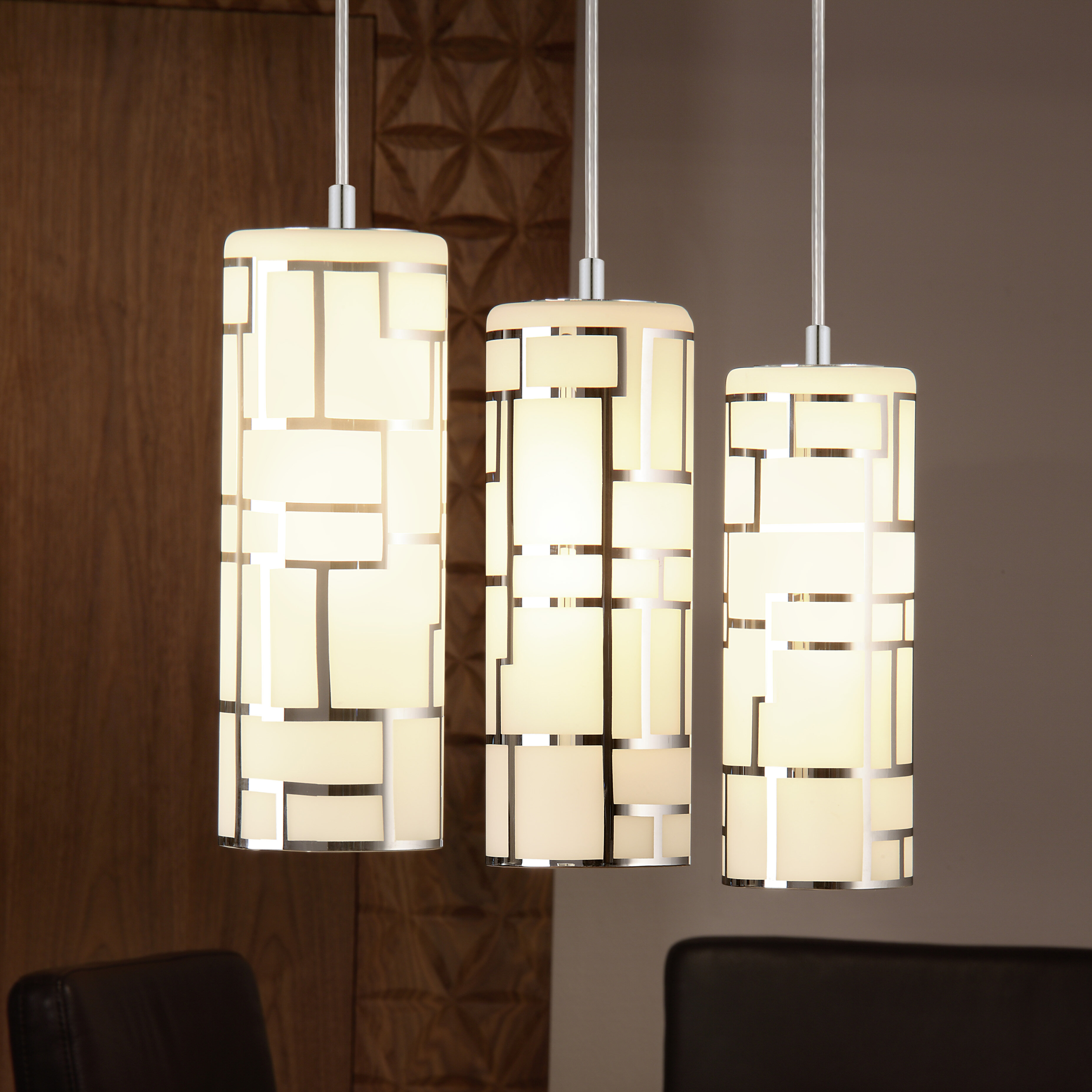 225 & Feldt 3-Light Kitchen Island Pendant
