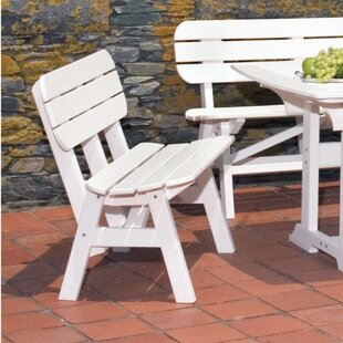 Portsmouth Plastic Garden Bench by Seaside Casual Read Reviews