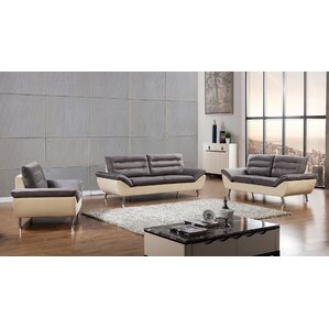 Dorsey 3 Piece Living Room Set by American Eagle International Trading Inc.