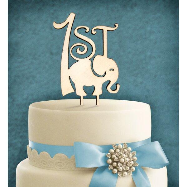 Prime Amonogramartunlimited 1St Birthday Elephant Cake Topper Wayfair Birthday Cards Printable Nowaargucafe Filternl