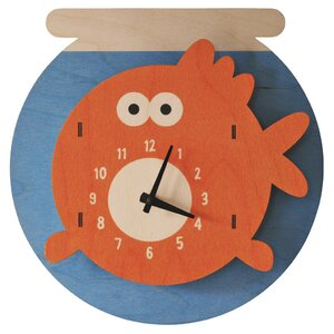 Fishbowl Wall Clock