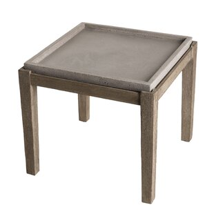 Mireya Wooden Side Table By Corrigan Studio