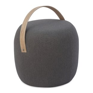 Olivia Outdoor Pouf Ottoman in Sunbrella Fabric by Braxton Culler