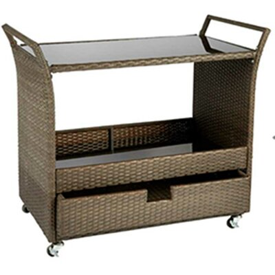 Marcus Bar Serving Cart by Bayou Breeze New