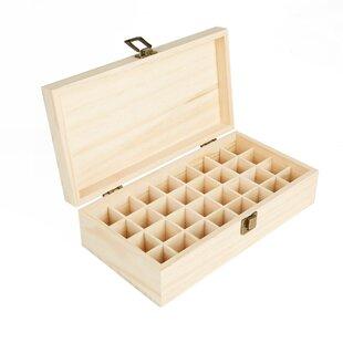 Top Reviews Essential Oil Wood Storage Box ByMind Reader