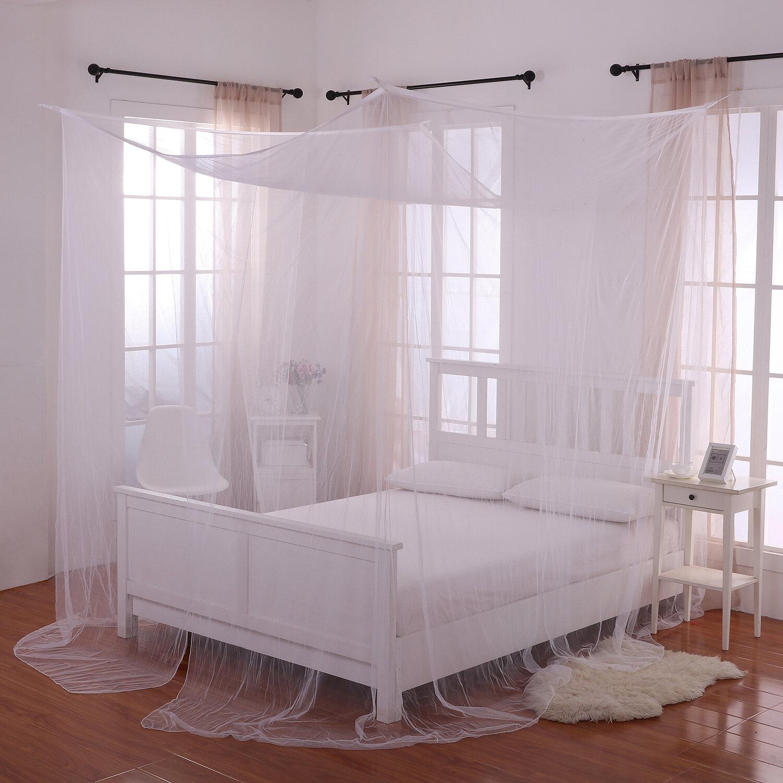- Harrelson 4-Post Bed Sheer Panel Canopy Net & Reviews Joss & Main