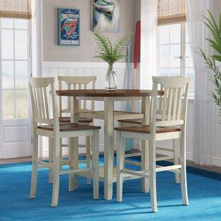 Breakwater Bay Eastep 5 Piece Counter Height Breakfast Nook Dining Set