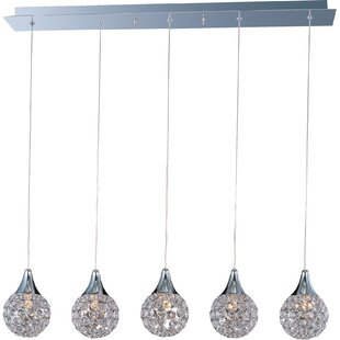 Willa Arlo Interiors Devereaux 5-Light Pendant
