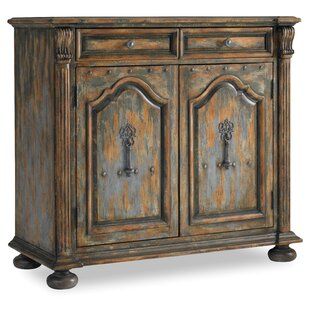 Wakefield 2 Door 2 Drawer Accent Cabinet with Bun Feet ByHooker Furniture